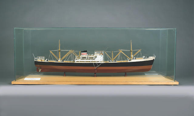 A Builder's Model of the MV DIPLOMAT 1953