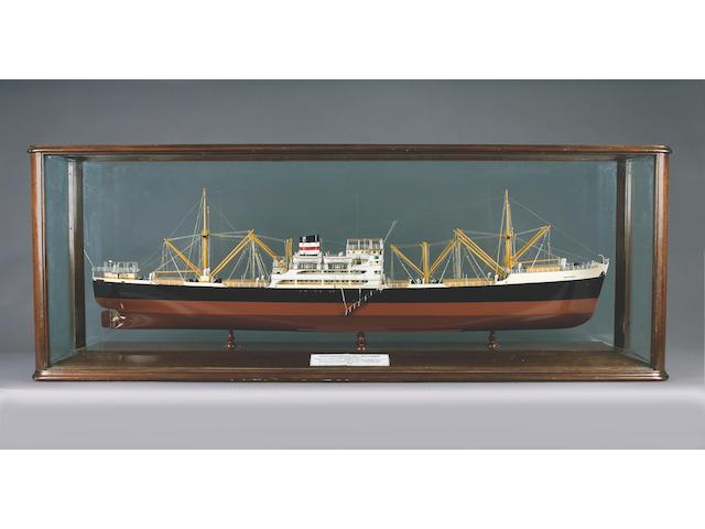 A Builder's Model of the MV WAYFARER 1951