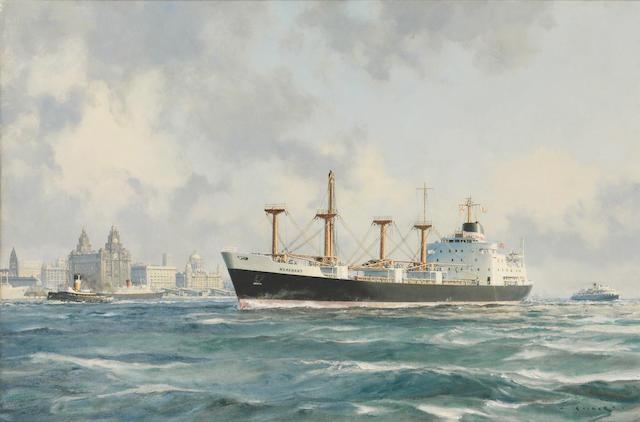 MERCHANT at Liverpool John Stobart 60x90 oil on canvas