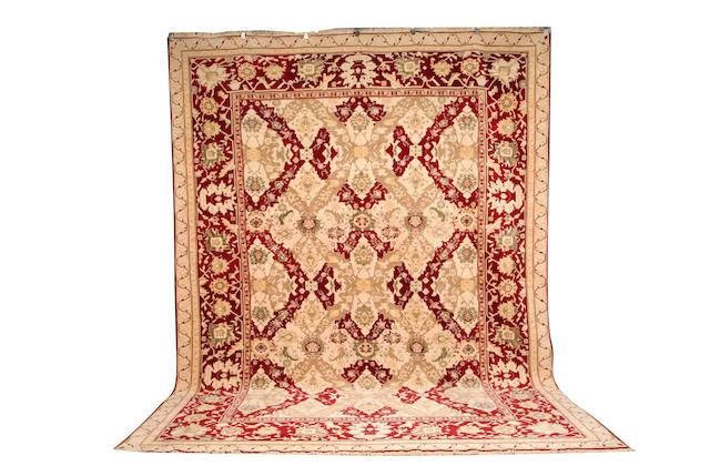 An 'Agra' carpet, India, late 20th century, 430 cm. x 325 cm.
