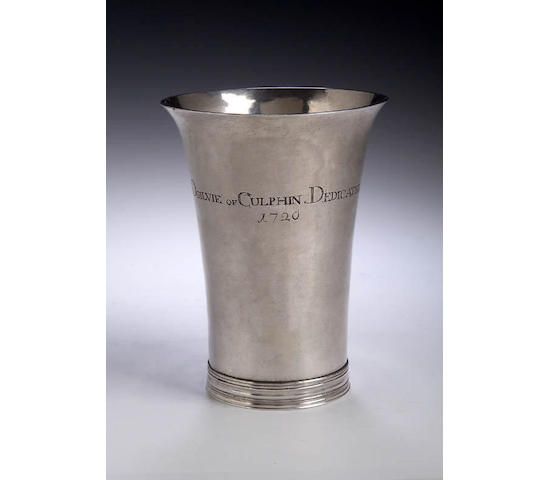 A rare Communion Beaker,