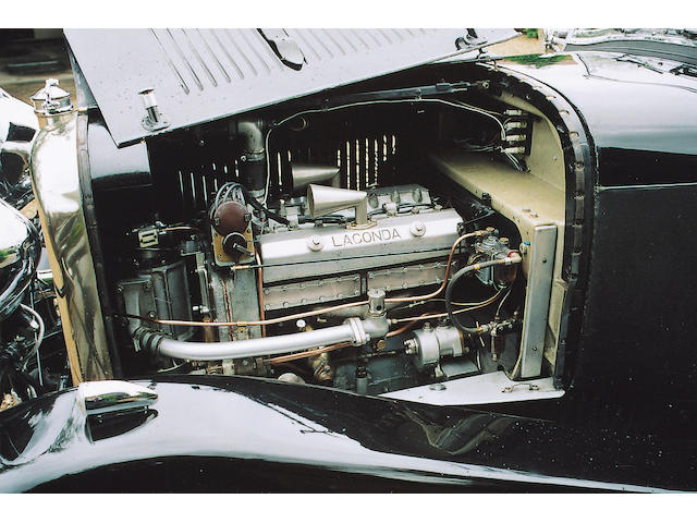 1932 Lagonda 2-Litre Supercharged Low Chassis T3 Tourer  Chassis no. OH 10056 Engine no. 1805/2B 1158