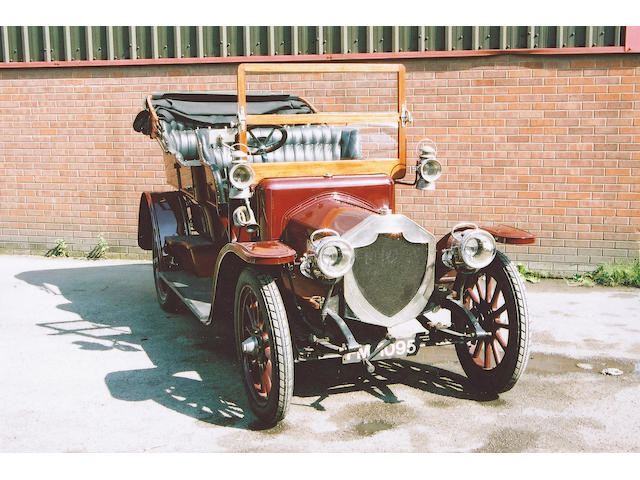 1909 Rover 15hp Tourer  Chassis no. 233 Engine no. 233