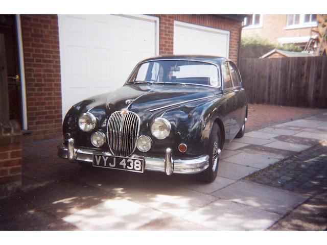 1959 Jaguar Mk2 3.4-Litre Saloon  Chassis no. 150185 DN Engine no. KG 13499