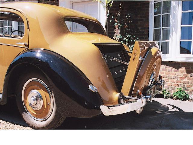1936 Talbot BG 110 3,378cc Speed Saloon