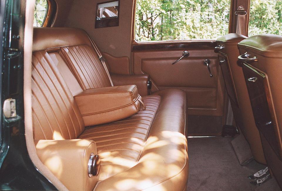 1949 Bentley MkVI Saloon  Chassis no. B356 FV Engine no. B178F