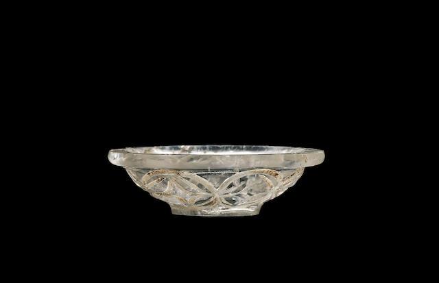 An Abbasid miniature rock crystal Vessel Persia or Mesopotamia, 9th/10th Century