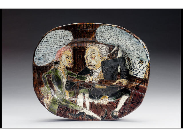 Grayson Perry Dish, James Birch Gallery