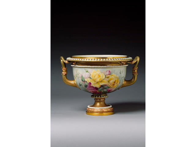 A good Royal Worcester vase by Harry Chair dated 1902
