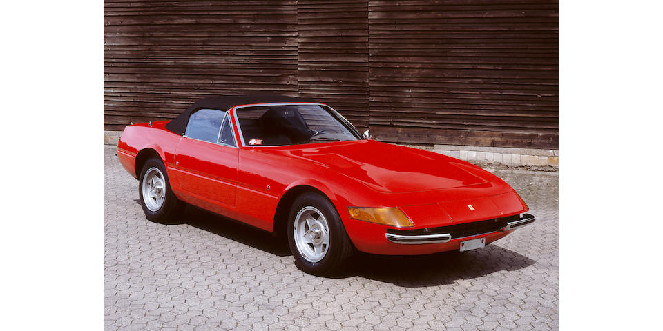 One owner from new,1972 Ferrari 365GTS/4 'Daytona' Spyder Coachwork by Pininfarina  Chassis no. 15845 Engine no. B1576