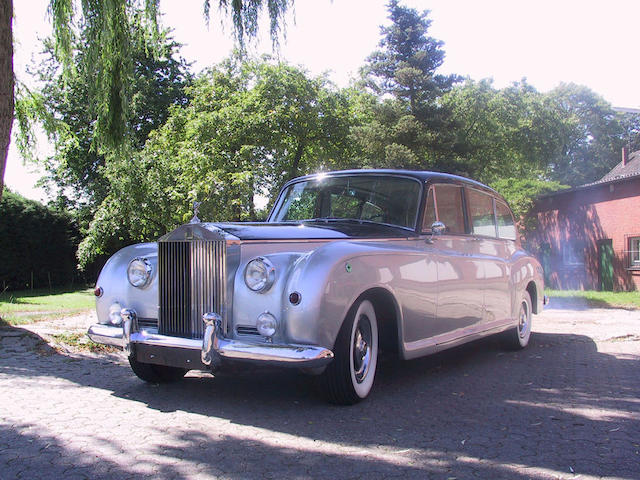 1960 Rolls-Royce Phantom V Limousine Coachwork by Park Ward  Chassis no. 5LAS61