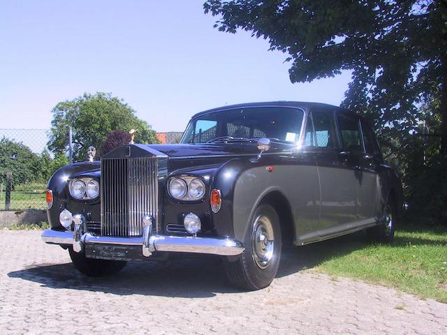 1968 Rolls-Royce Phantom VI Limousine Coachwork by Mulliner Park Ward