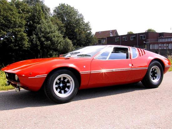 1968 De Tomaso Mangusta Coupe  Chassis no. 8MA.544