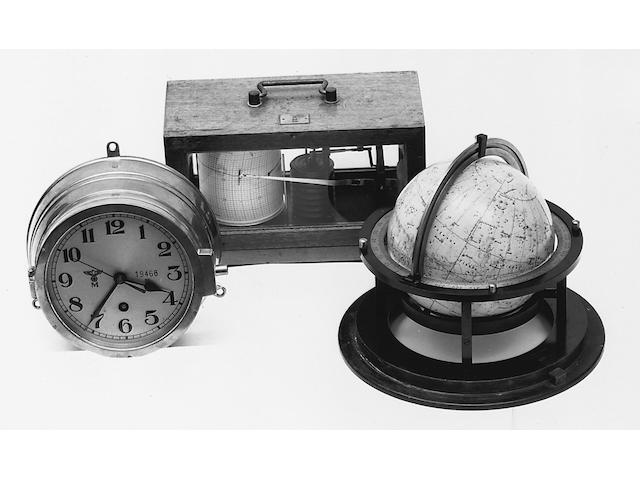 A Third Reich Kriegsmarine celestial globe, Schotte, Ernst, Berlin,