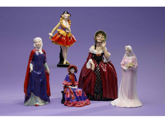 A Doulton figure Harlequinade