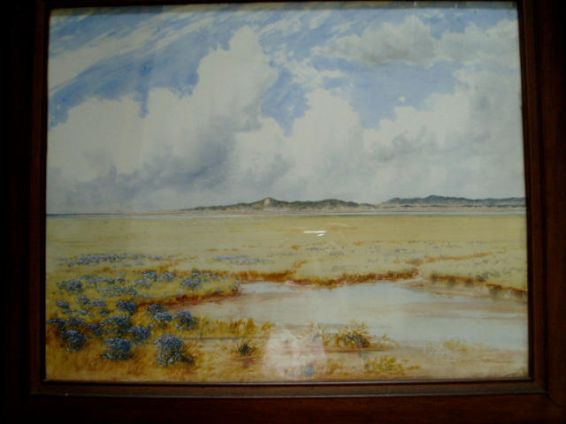 Frederick Henry Partridge (20th Century) Blakeney Point on the Norfolk coastSigned and dated 1923, watercolour heightened with bodycolour,