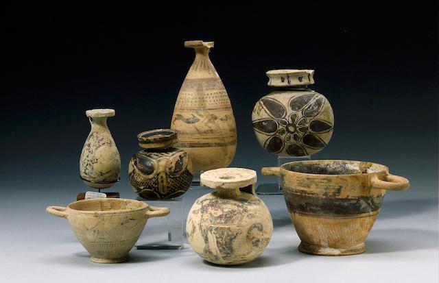 Eleven Corinthian vessels