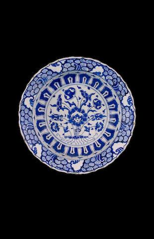 An impressive Iznik pottery Tazza Turkey, circa 1570-90