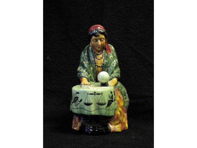 A Royal Doulton figure, 'Fortune Teller'