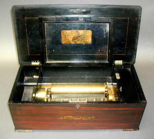 An Ami Rivenc musical box,