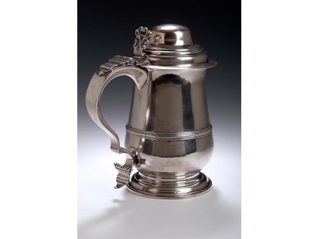 Silver tankard, London 1778