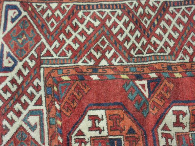A Turkoman carpet,