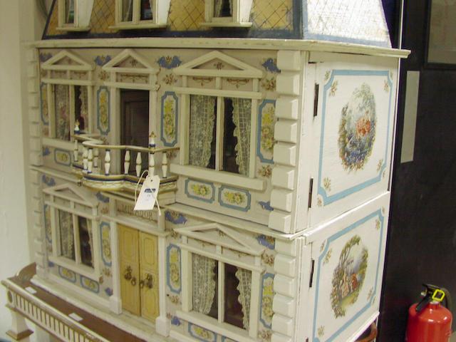 A Christian Hacker Dolls House, German circa 1900