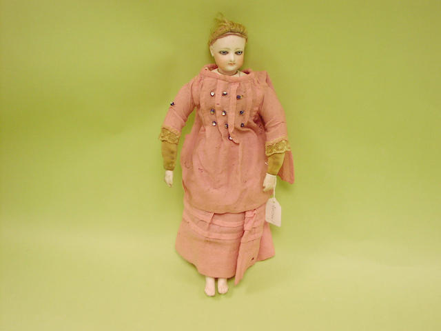 A Francois Gaultier fashion doll, circa 1880