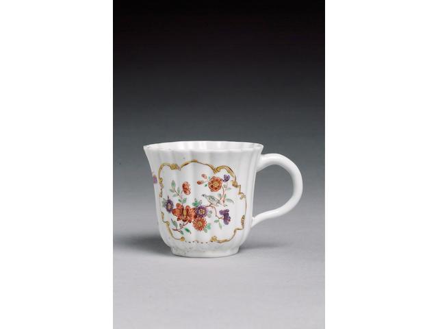 A rare coffee cup of 'A mark' type circa 1744-45