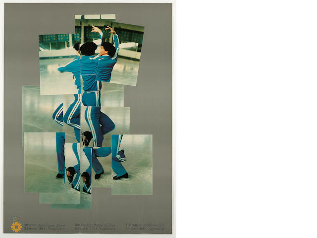 David Hockney XIV Winter Olympic Games, Sarajevo, Yugoslavia