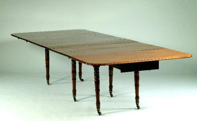 A Regency mahogany metamorphic table possibly after designs by Morgan & Sanders