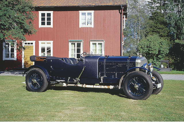 1930 Bentley Speed Six 6 1/2 Litre Le Mans Replica LR2777