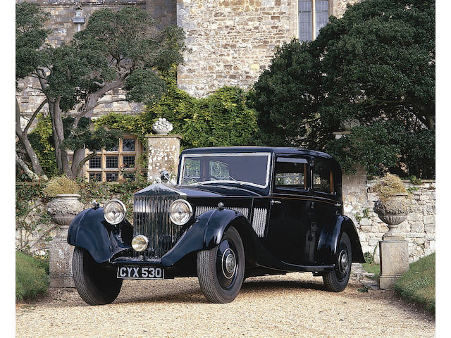1936 Rolls-Royce 20/25hp Four Door Saloon Coachwork by Windovers  Chassis no. GOH44 Engine no. T3F
