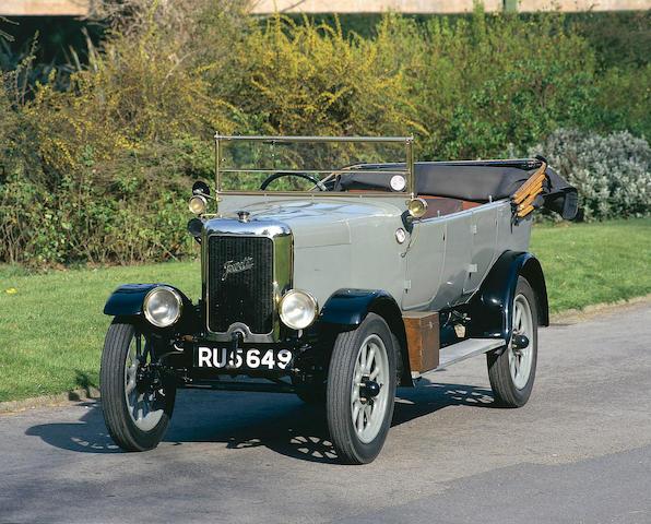 1927 Jowett 7hp Long Four Tourer  Chassis no. 7/2/0633 Engine no. 7/2/0633