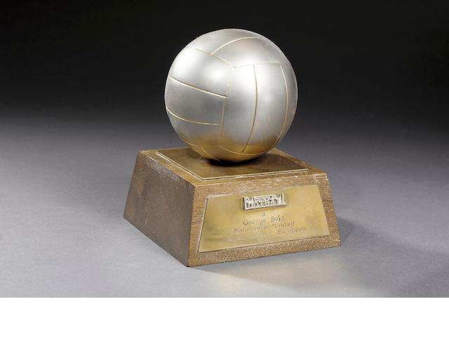 European player of the year trophy