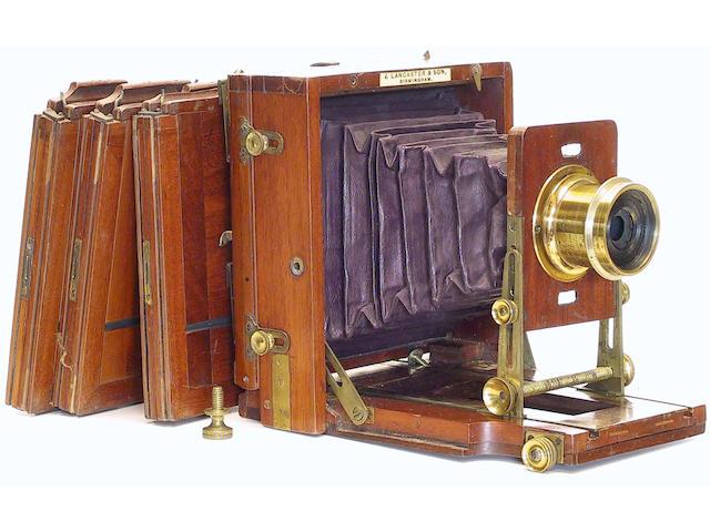 Lancaster 1897 Patent Instantograph,