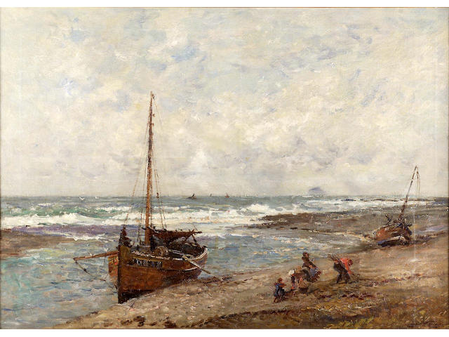 "Robert Weir Allan RSA RWS RSW (1852-1942) ""The Ebbing Tide"" 84x118cm"