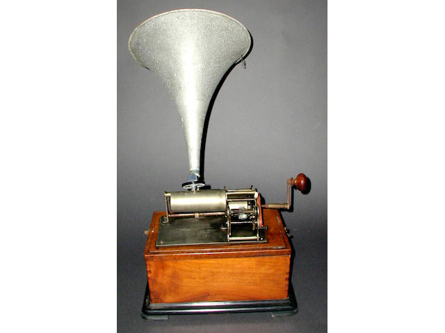 A New Perfecta style phonograph,