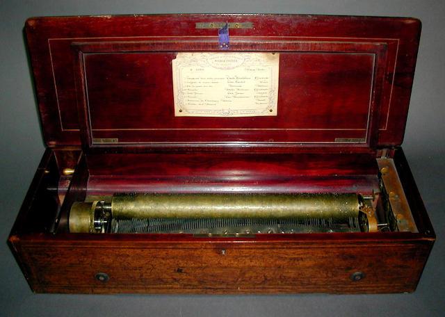 A Nicole Freres Forte Piano musical box,