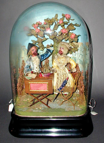 A French musical automata by Phalibois,