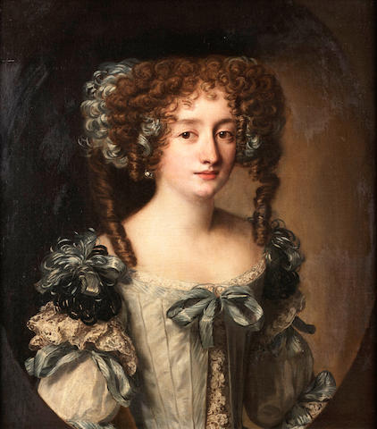 Attributed to Jakob Ferdinand Voet, Portrait of Hortense Mancini