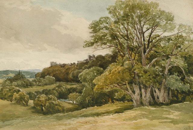 Edmund Morison Wimperis (British, 1835-1900) Arundel Castle