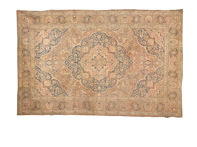A large Tabriz carpet,  North West Persia,