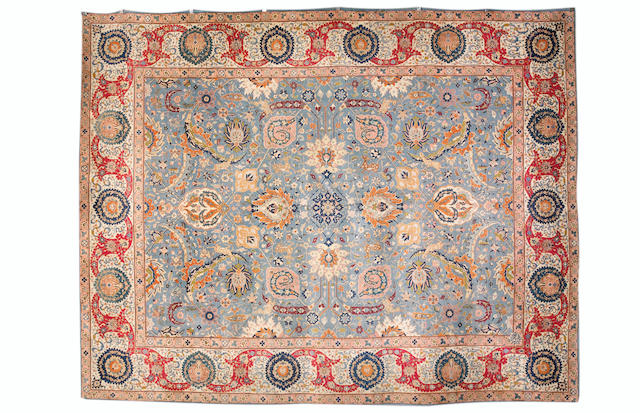 A Benlian Tabriz carpet, North West Persia, 13 ft 10 in x 11 ft (421 x 336 cm)