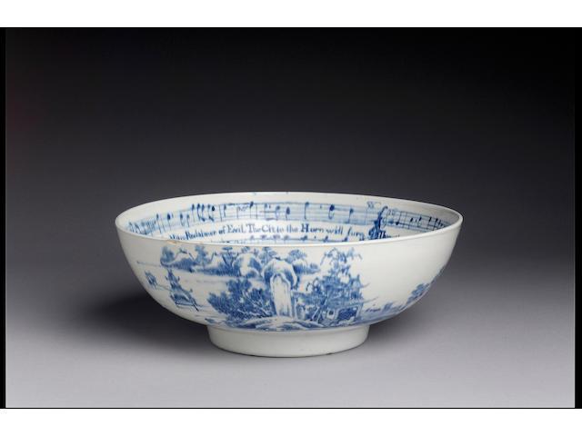 The Vauxhall Musical Bowl circa 1758-60