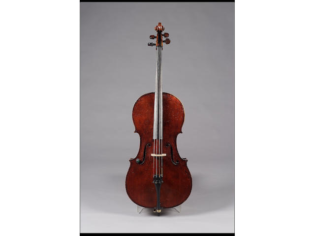 A good English Violoncello by G. Craske circa 1850