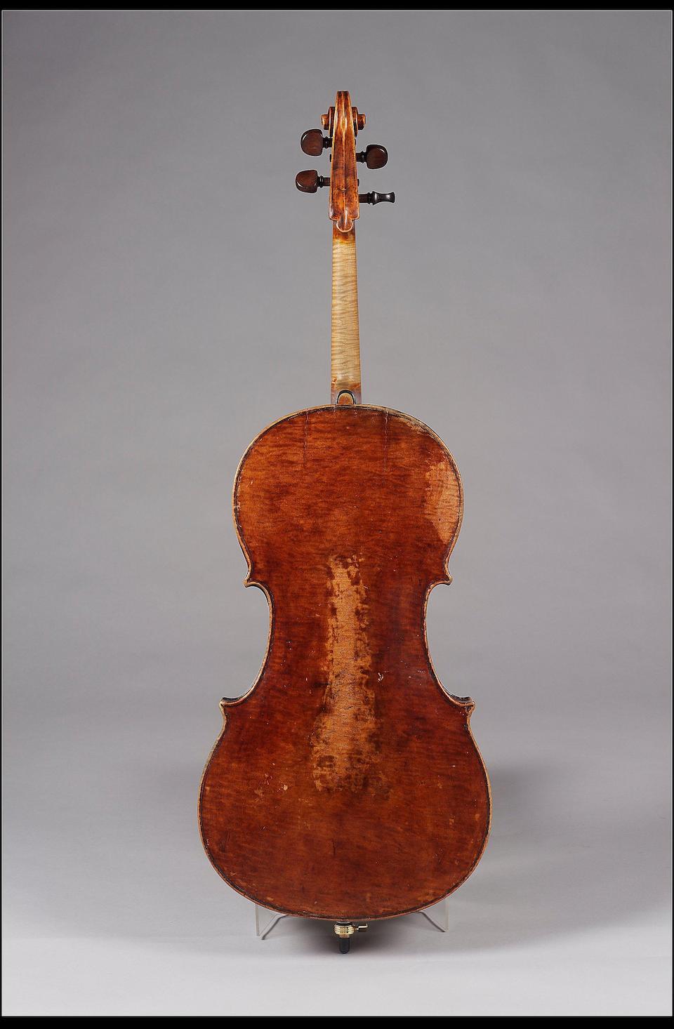 A good English Violoncello by G. Craske circa 1850