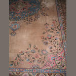 A Romanian carpet of Tabriz design signed,