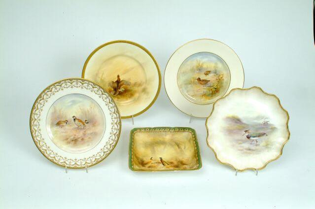 A Royal Doulton plate