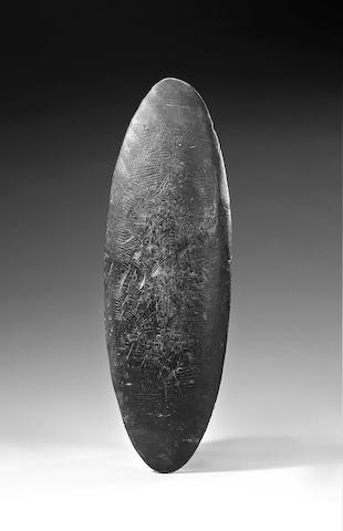 Australian Aborigine wood parrying shield